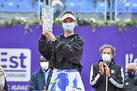 26th September 2020, Strasbourg, France;  Internationaux de Strasbourg 2020 final;  Svitolina of Ukraine wins over Elena Rybakina Kazakstan