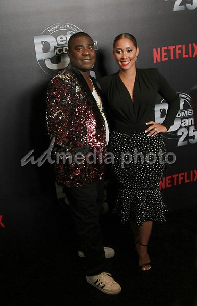 "10 September 2017 - Beverly Hills, California - Tracy Morgan, Megan Wollover Netflix ""Def Comedy Jam 25"" held at The Beverly Hilton. Photo Credit: Theresa Bouche/AdMedia"