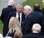 Sir Alex Ferguson and John Grieg MBE