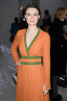Jennifer Kirby<br /> at the Jasper Conran show as part of London Fashion Week, London<br /> <br /> <br /> ©Ash Knotek  D3378  17/02/2018
