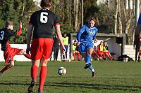 Conner Scully of Walthamstow shot is savedduring Walthamstow vs Sawbridgeworth Town, Essex Senior League Football at Wadham Lodge Sports Ground on 8th February 2020