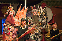 Chinese Opera stars preform - Chengdu, China in Sichuan Province