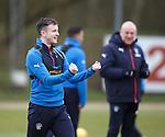 Andy Halliday at training