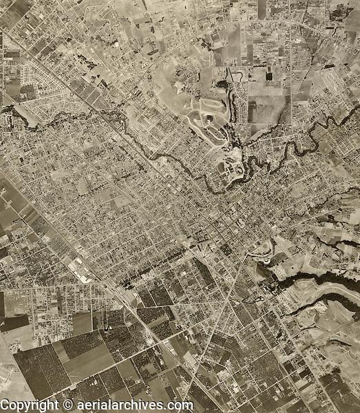 historical aerial photograph Hayward, Alameda county, 1948