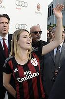 Barbara Berlusconi <br /> Milano 10-09-2015 <br /> Milan Presentazione Ufficiale della squadra ai tifosi. Official presentation of AC Milan Football Calcio 2015/2015  - foto Daniele Buffa/Image Sport/Insidefoto