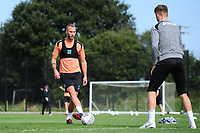 Mike van der Hoorn of Swansea City during the Swansea City Training Session at The Fairwood Training Ground, Wales, UK. Thursday 30th August 2018