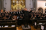 JSerra Catholic High School Chamber Orchestra and Choirs perform a Christmas concert at the Mission of San Juan Capistrano, CA.