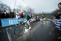 Liege-Bastogne-Liege 2012.98th edition..Pierre Rolland first up La Redoute