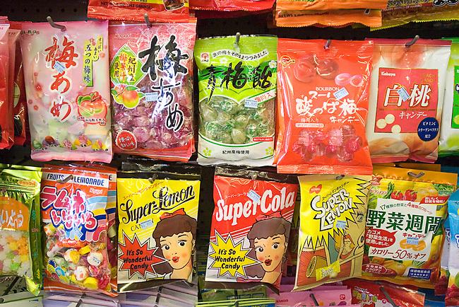 Candy, Super Tokio, Clement Street, San Francisco, California