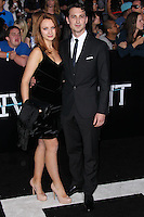 """WESTWOOD, LOS ANGELES, CA, USA - MARCH 18: Emily Berrington, Ben Lloyd-Hughes at the World Premiere Of Summit Entertainment's """"Divergent"""" held at the Regency Bruin Theatre on March 18, 2014 in Westwood, Los Angeles, California, United States. (Photo by Xavier Collin/Celebrity Monitor)"""