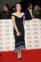 Charlotte Ritchie<br /> at the National TV Awards 2017 held at the O2 Arena, Greenwich, London.<br /> <br /> <br /> ©Ash Knotek  D3221  25/01/2017