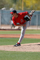 Jordan Towns - Los Angeles Angels - 2009 spring training.Photo by:  Bill Mitchell/Four Seam Images