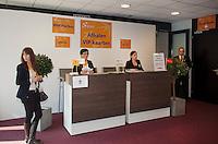 10-02-12, Netherlands,Tennis, Den Bosch, Daviscup Netherlands-Finland, Loting,