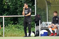 Trainer Ned Kostro (Königstädten) - Rüsselsheim 22.08.2021: SV Alemannia Königstädten vs. SKG Stockstadt, Kreisliga A