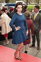 Candice Brown<br /> arrives for the T.R.I.C. Awards 2017 at the Grosvenor House Hotel, Mayfair, London.<br /> <br /> <br /> ©Ash Knotek  D3240  14/03/2017