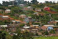 Cidade de Anapú, próxima a Altamira, região de exploração madeireira, conflitos agrários e ambientais.<br /> Anapú, Pará, Brasil<br /> 16/02/2005<br /> Foto Paulo Santos