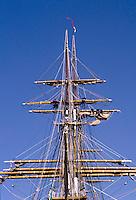 marinai della nave scuola della Marina Italiana , Amerigo Vespucci
