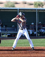Logan Britt takes part in the 2018 Under Armour Pre-Season All-America Tournament at the Chicago Cubs training complex on January 13-14, 2018 in Mesa, Arizona (Bill Mitchell)