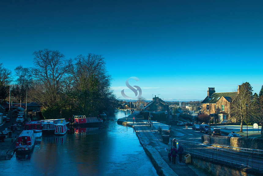The Forth & Clyde Canal, Linlithgow, West Lothian