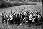 Pheasant shooters near Killarney in the 1960's..Picture by Harry MacMonagle
