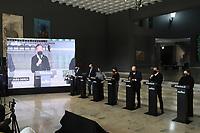 SÃO PAULO, SP, 09.06.2021 - COVID-19-SP - João Doria, Governador de São Paulo, apresenta informações sobre o combate ao coronavírus (COVID-19) em São Paulo, no Palácio dos Bandeirantes, nesta quarta-feira, 9. (Foto Charles Sholl/Brazil Photo  Press)