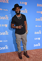 """LOS ANGELES, CA - JUNE 10: Romeo Brown attends the Season Two Red Carpet event for FXX's """"DAVE"""" at the Greek Theater on June 10, 2021 in Los Angeles, California. (Photo by Frank Micelotta/FXX/PictureGroup)"""