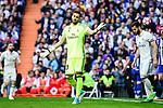 Real Madrid's Kiko Casilla during La Liga match between Real Madrid and Deportivo Alaves at Stadium Santiago Bernabeu in Madrid, Spain. April 02, 2017. (ALTERPHOTOS/BorjaB.Hojas)