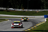 #73 LA Honda World Racing Honda Civic TCR, TCR: Mike LaMarra, Mathew Pombo, #23 FASTMD Racing with Speed Syndicate Audi RS3 LMS TCR, TCR: James Vance, Max Faulkner