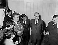 1965 05 POL - HAMEL_Wilfred - Maire de Quebec