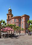 Germany, Hesse, Frankfurt on the Main: St Paul's Church on Pauls's Square | Deutschland, Hessen, Frankfurt am Main: die Frankfurter Paulskirche auf dem Paulsplatz