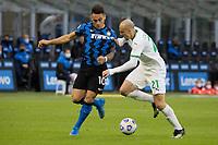 inter-sassuolo - milano 7 aprile 2021 - 28° giornata Campionato Serie A - nella foto: Martinez e Chriches