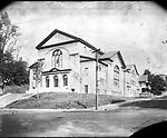 Frederick Stone negative. Baptist Church. Undated photo.