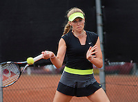 August 8, 2014, Netherlands, Rotterdam, TV Victoria, Tennis, National Junior Championships, NJK,  Fleur Holtkamp (NED)<br /> Photo: Tennisimages/Henk Koster