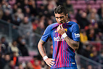 Paulinho Maciel of FC Barcelona reacts during the La Liga 2017-18 match between FC Barcelona and RC Celta de Vigo at Camp Nou Stadium on 02 December 2017 in Barcelona, Spain. Photo by Vicens Gimenez / Power Sport Images