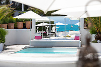 BNPS.co.uk (01202 558833)<br /> Pic: CapVillas/BNPS<br />  <br /> A glamorous villa that has hosted a string of celebrities including Winston Churchill, Pablo Picasso, the Duke of Windsor and Edith Piaf is on the market for £9m (10.5m euros).<br /> <br /> The exquisite Villa La Garoupe Beach sits on a natural sand beach and has its own private beach on one of the French Riviera's most exclusive spots.<br /> <br /> It was once a renowned beach club and the list of names connected to the property are endless. French singer Edith Piaf hosted her engagement party to Theo Sarapo there and it was also visited by former US President Harry Truman, writer Ernest Hemingway, Bond actor Sean Connery and movie star Marlene Dietrich.<br /> <br /> The property in Cap d'Antibes has four bedrooms suitable for six to eight people, three bathrooms and a living area overlooking the sea.