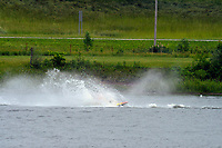 Frame 16: 30-H, 44-S spins out in turn 2   (Outboard Hydroplanes)   (Saturday)