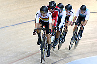 Corbin Strong  competes in the Elite Men Omnium points race 30km during the 2020 Vantage Elite and U19 Track Cycling National Championships at the Avantidrome in Cambridge, New Zealand on Friday, 24 January 2020. ( Mandatory Photo Credit: Dianne Manson )