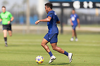 BRADENTON, FL - JANUARY 23: Jonathan Lewis moves with the ball during a training session at IMG Academy on January 23, 2021 in Bradenton, Florida.