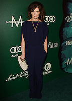 BEVERLY HILLS, CA, USA - OCTOBER 10: Rebecca Wisocky arrives at the 2014 Variety Power Of Women held at the Beverly Wilshire Four Seasons Hotel on October 10, 2014 in Beverly Hills, California, United States. (Photo by Celebrity Monitor)