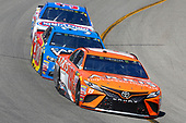 Monster Energy NASCAR Cup Series<br /> Toyota Owners 400<br /> Richmond International Raceway, Richmond, VA USA<br /> Sunday 30 April 2017<br /> Daniel Suarez, Joe Gibbs Racing, ARRIS Toyota Camry and David Ragan, Front Row Motorsports, Camping World/Good Sam Ford Fusion<br /> World Copyright: Russell LaBounty<br /> LAT Images<br /> ref: Digital Image 17RIC1Jrl_5288