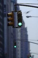 Green traffic lights<br />
