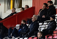 Bolton Wanderers' director Michael James in the visiting director's box <br /> <br /> Photographer Andrew Kearns/CameraSport<br /> <br /> The EFL Sky Bet League Two - Stevenage v Bolton Wanderers - Saturday 21st November 2020 - Lamex Stadium - Stevenage<br /> <br /> World Copyright © 2020 CameraSport. All rights reserved. 43 Linden Ave. Countesthorpe. Leicester. England. LE8 5PG - Tel: +44 (0) 116 277 4147 - admin@camerasport.com - www.camerasport.com