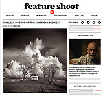 """An interview and 14 photographs by Michael Knapstein were published in the January 16, 2018 edition of """"Feature Shoot"""" magazine.  <br /> <br /> <br /> Feature Shoot showcases the work of international emerging and established photographers who are transforming the medium through compelling, cutting-edge projects. With contributing writers from all over the world and a wide range of interests, we feature contemporary work in all genres of photography: fine art, documentary, portrait, still life, landscape and more. We believe that photography is a powerful mode of storytelling, and share works that have a strong narrative vision. Started in 2008 by Alison Zavos, Feature Shoot has now amassed an archive of over 4,000 posts of exceptional photography from around the globe."""