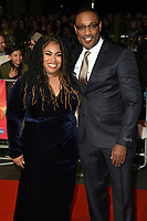 """Angie Thomas and George Tillman Jr.<br /> arriving for the London Film Festival screening of """"The Hate U Give"""" at the Cineworld Leicester Square, London<br /> <br /> ©Ash Knotek  D3452  20/10/2018"""