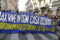 - Milano, manifestazione dei Centri Sociali  nel decennale dell'uccisione del giovane Dax da parte di alcuni fascisti<br /> <br /> - Milan, demonstration of social centers for the tenth anniversary of the killing of young Dax by some fascists