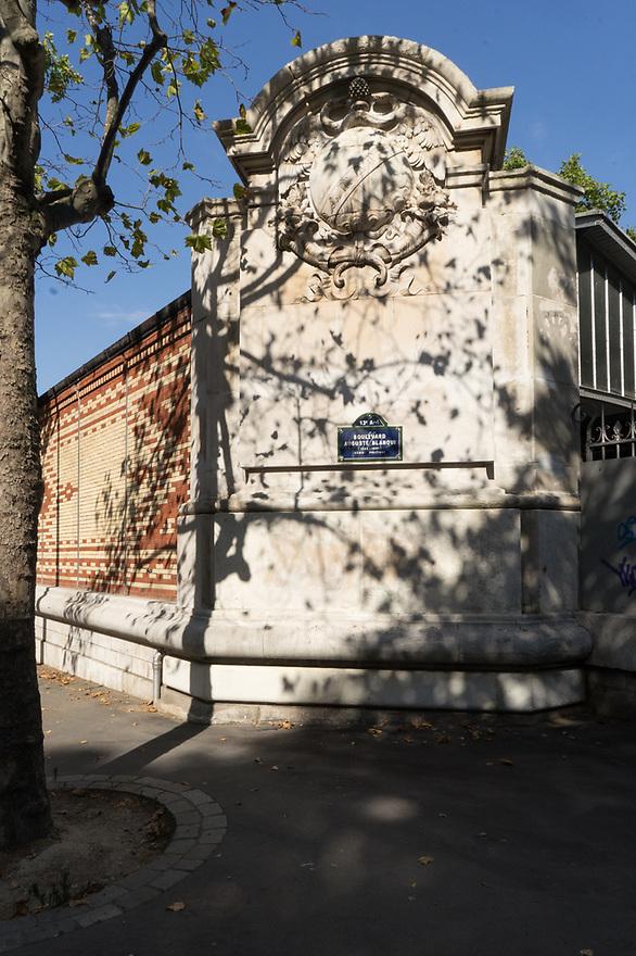 Parigi 8 agosto 2020. In viaggio verso la Bretagna e il Supertramp. Boulevard Auguste Blanqui.