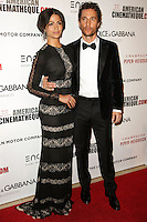 BEVERLY HILLS, CA, USA - OCTOBER 21: Camila Alves, Matthew McConaughey arrive at the 28th American Cinematheque Award Honoring Matthew McConaughey held at The Beverly Hilton Hotel on October 21, 2014 in Beverly Hills, California, United States. (Photo by Celebrity Monitor)