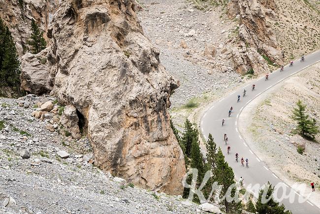 up the Col de l'Izoard (HC/2354m/14.2km@7%) > 2km from the top, in the 'Casse Déserte'<br /> <br /> Stage 18: Embrun to Valloire(208km)<br /> 106th Tour de France 2019 (2.UWT)<br /> <br /> ©kramon