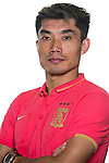 Zheng Zhi of Guangzhou Evergrande poses for the official photo prior to the Guangzhou Evergrande vs Gamba Osaka match as part the AFC Champions League 2015 Semi Final 1st Leg match on September 29, 2015 at  Tianhe Sport Center in Guangzhou, China. Photo by Aitor Alcalde / Power Sport Images