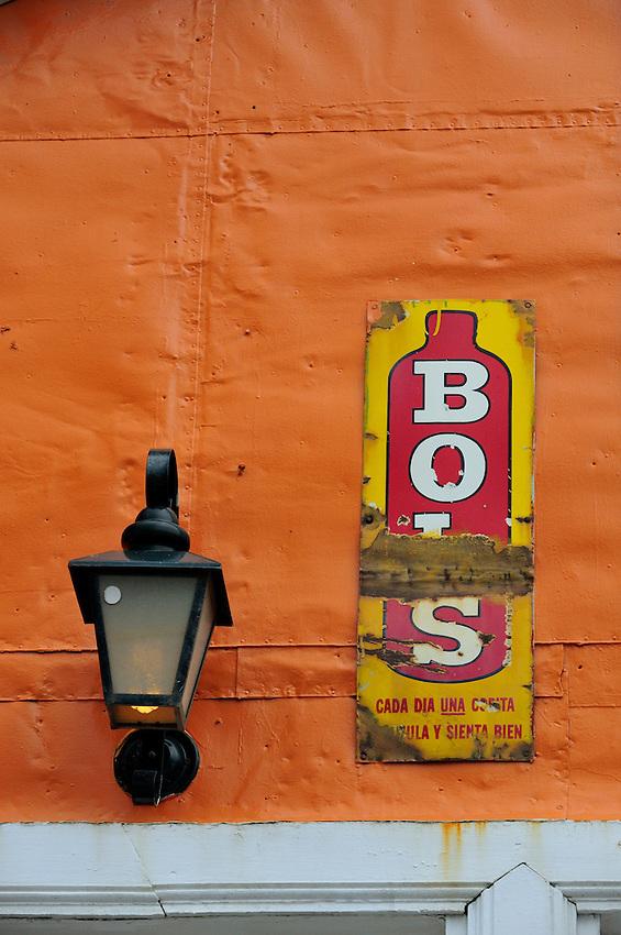 Ushuaia Street Scenes - Old Advertising Enamel Sign
